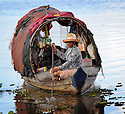 Mechrey floating village, Cambodia,  for The UK Bible Society.