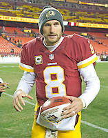 Washington Redskins quarterback Kirk Cousins (8) leaves the field following his team's 42 - 24 victory over the Green Bay Packers at FedEx Field in Landover, Maryland on Sunday, November 20, 2016. <br /> Credit: Ron Sachs / CNP /MediaPunch