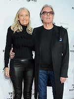 NEW YORK, NY - APRIL 19: Peter Fonda and Margaret DeVogelaere attends  'Clive Davis: The Soundtrack of Our Lives' 2017 Opening Gala of the Tribeca Film Festival at Radio City Music Hall on April 19, 2017 in New York City. <br /> CAP/MPI/JP<br /> &copy;JP/MPI/Capital Pictures