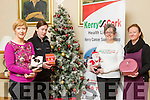 Launch<br /> ----------<br /> At the Launch of the Christmas Fare in the Kerins O'Rahilly's GAA club house, Strand Rd, Tralee, which takes place on Dec 11th next and will support the Kerry/Cork health link bus, were L-R Marie Nix, Trish Kelly, Breda Dylan and Sherley Doody