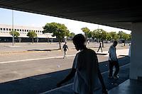 Roma 29 Agosto 2008.Centro accoglienza rifugiati di Castelnuovo di Porto..Refugee acceptance centre of Castelnuovo di Porto..