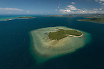 Aerial - Nukuvadra Island, Northern Division.