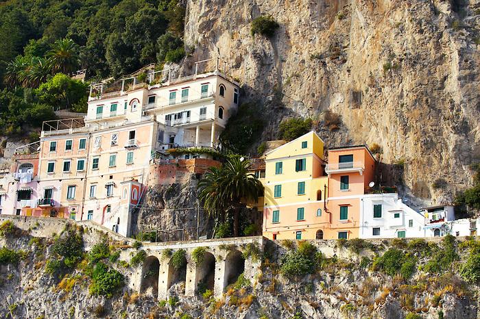 Houses of Amalfi, Italy
