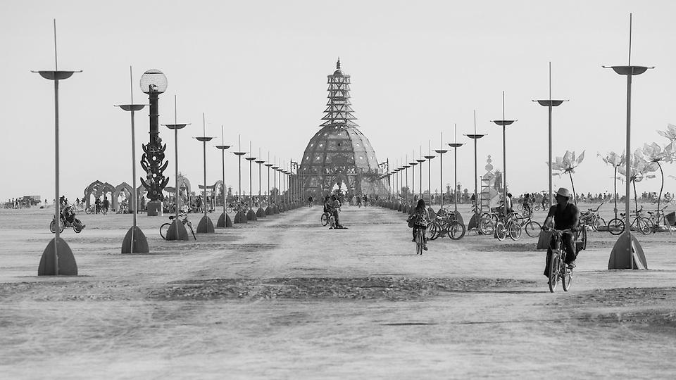 Burning Man 2014 Temple