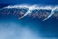 Hawaii, Oahu, North Shore, Waimea Bay.<br />