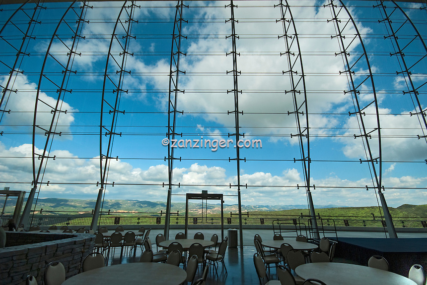 Ronald Reagan Presidential Library and Museum  Air Force One Pavilion Window Simi Valley California