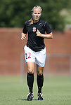 06 September 2009: Stanford's Allison McCann. The Stanford University Cardinal defeated the Virginia Tech University Hokies 5-0 at UNCG Soccer Stadium in Greensboro, North Carolina in an NCAA Division I Women's college soccer game.