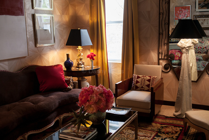 Design by Nick Olsen Inc at The 45th Kips Bay Decorator Show House, at 125 East 65th St. <br /> <br /> Danny Ghitis for The New York Times