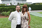 Manny and Sunny Hostin Attend The Fourth Annual Reginald F. Lewis Foundation Gala Luncheon Held at The Reginald F. Lewis Estate, East Hampton New York, 6/25/11