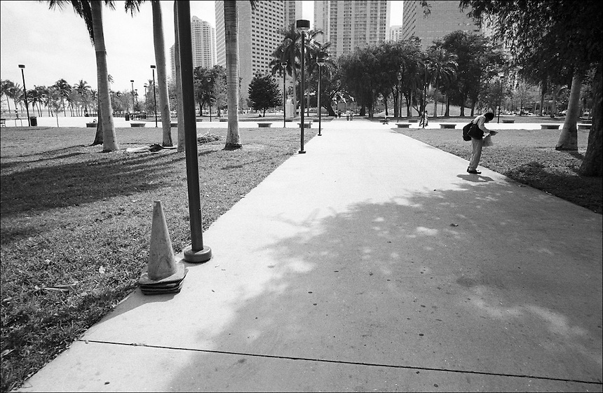 "From ""Miami in Black and White"" series. Miami, 2009"