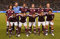 Colorado Rapids starting eleven. The Colorado Rapids defeated CD Chivas USA 1-0 at Home Depot Center stadium in Carson, California on Saturday March 26, 2011...