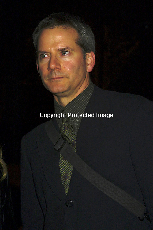 "©2002  AURA BLANDINO/ HUTCHINS PHOTO.""CONFESSION OF DANGEROUS MIND"".PARIS THEATER.NEW YORK, NEW YORK.12/19/02..SCOTT CAMPBELL"