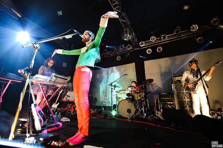 Of Montreal performs with special guests Solange Knowles and Susan Sarandon at Highline Ballroom, NYC. January 26, 2010. Copyright © 2010 Chris Owyoung. All Rights Reserved.