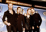 Metallica 1998 James Hetfield,Kirk Hammett, Lars Ulrich and Jason Newsted at Billboard Awards