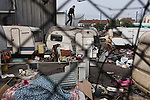 Roma eviction Pont de Bondy Paris Bobigny Noissy