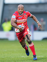 Picture by Allan McKenzie/SWpix.com - 04/03/2017 - Rugby League - Betfred Super League - Salford Red Devils v Warrington Wolves - AJ Bell Stadium, Salford, England - Robert Lui.