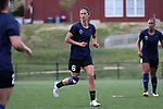 CHARLOTTE, NC - MARCH 25: Courage's Abby Erceg (NZL). The NWSL's North Carolina Courage played their first preseason game against the University of Tennessee Volunteers on March 25, 2017, at Queens University of Charlotte Sports Complex in Charlotte, NC. The Courage won the match 3-0.