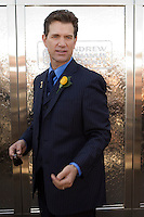 Singer Chris Isaak enjoying time out at the 2008 Melbourne Cup race day.