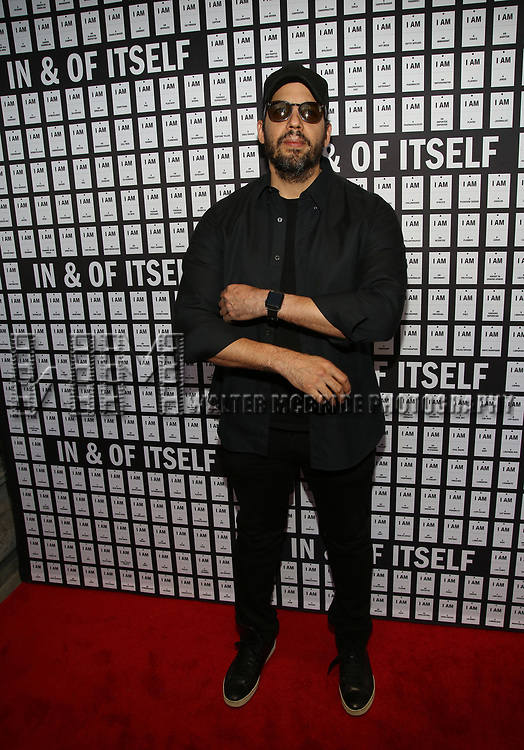 David Blaine attends the Opening Night 'In & Of Itself' at the Daryl Roth Theatre on April 12, 2017 in New York City