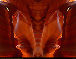 Antelope Canyon Fractal Composites