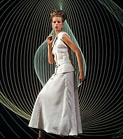 Fashion, New York City, 1964. Photo by John G. Zimmerman.
