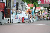 WIELRENNEN: SURHUISTERVEEN: 26-07-2016, Profronde 2016, Pieter Weening, Lieuwe Westra, ©foto Martin de Jong