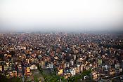 An overview of Kathmandu, Nepal. Photo: Sanjit Das/Panos