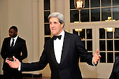 United States Senator John F. Kerry (Democrat of Massachusetts) arrives for the Official Dinner in honor of Prime Minister David Cameron of Great Britain and his wife, Samantha, at the White House in Washington, D.C. on Tuesday, March 14, 2012..Credit: Ron Sachs / CNP.(RESTRICTION: NO New York or New Jersey Newspapers or newspapers within a 75 mile radius of New York City)