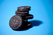 August 11, 2011. Durham, NC..Oreos and Nutter Butters for story on William Turnier, the designer of both cookies and the Milk Bone