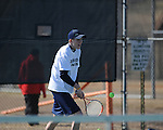 Oxford High vs. New Albany in tennis action at the John Leslie Tennis Courts in Oxford, Miss. on Saturday, February 27, 2010.