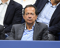 FLUSHING NY- AUGUST 30: John Paulson seen Serena Williams Vs Ekaterina Kakarova on Arthur Ashe Stadium at the USTA Billie Jean King National Tennis Center on August 30, 2016 in Flushing Queens. Credit: mpi04/MediaPunch