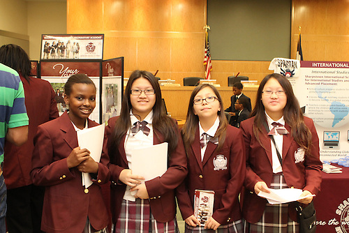 These students chose Young Women's College Preparatory Academy. Which school will your children be attending next year? Learn more about the options available at the School Choice Fair on April 27.