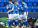 St Johnstone v Aberdeen&hellip;22.04.16  McDiarmid Park, Perth<br />David Wotherspoon celebrates his goal<br />Picture by Graeme Hart.<br />Copyright Perthshire Picture Agency<br />Tel: 01738 623350  Mobile: 07990 594431