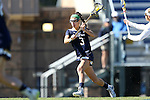 DURHAM, NC - FEBRUARY 26: Notre Dame's Nikki Ortega. The Duke University Blue Devils hosted the University of Notre Dame Fighting Irish on February, 26, 2017, at Koskinen Stadium in Durham, NC in a Division I College Women's Lacrosse match. Notre Dame won the game 12-11.