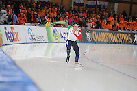 SCHAATSEN: BERLIJN: Sportforum Berlin, 05-03-2016, WK Allround, Men 500m, Michele Malfatti (ITA), ©foto Martin de Jong