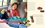 2006 Safeway : Tearsheets by San Francisco Bay Area - corporate and annual report - photographer Robert Houser. 2006 pictures.