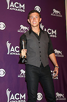 LAS VEGAS - APR 1:  Scotty McCreery in the press room  at the 2012 Academy of Country Music Awards at MGM Grand Garden Arena on April 1, 2010 in Las Vegas, NV.