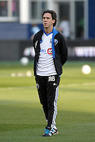 Mauro Biello assistant coach Montreal Impact..Sporting Kansas City defeated Montreal Impact 2-0 at Sporting Park, Kansas City, Kansas.