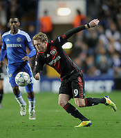 FUSSBALL   CHAMPIONS LEAGUE   SAISON 2011/2012     13.08.2011 FC Chelsea London - Bayer 04 Leverkusen Andre Schuerrle (Bayer 04 Leverkusen) am Ball