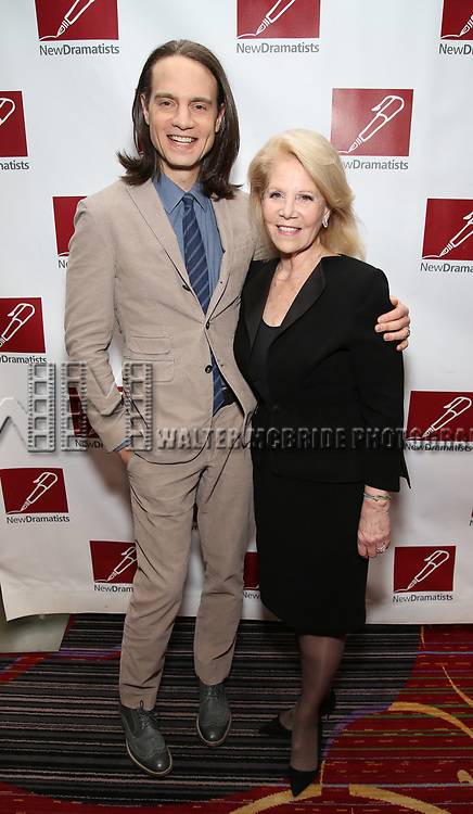 Jordan Roth and Daryl Roth attends The New Dramatists' 68th Annual Spring Luncheon at the Marriott Marquis on May 16, 2017 in New York City.