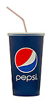 Cup of Pepsi Cola with Straw - Oct 2011