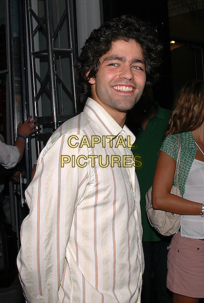 """ADRIAN GRENIER.American Eagle Outfitters' """"Live Your Life Contest"""" winners at the Union Square flagship store in Manhattan, New York, New York..July 27th, 2005  .Photo Credit: Patti Ouderkirk/AdMedia.half length.www.capitalpictures.com.sales@capitalpictures.com.© Capital Pictures."""