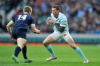 Andy Rees of Cambridge University in possession. The Varsity Match between Oxford University and Cambridge University on December 10, 2015 at Twickenham Stadium in London, England. Photo by: Patrick Khachfe / Onside Images