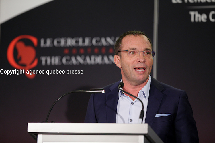 Mitch Garber, CEO, Caesars Acquisition Company, delivers a speech to the Canadian Club of Montreal, September, 19, 2016.<br /> <br /> Photo : <br /> agence quebec presse
