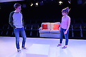 "Damsel Productions presents, Soho Young Writer Award Winner, Phoebe Eclair-Powell's play ""Fury"" at Soho Theatre. Directed by Hannah Bauer-King, with set design by Anna Reid, and lighting design by Natasha Chivers. Picture shows: Alex Austin (Tom), Sarah Ridgeway (Sam)"