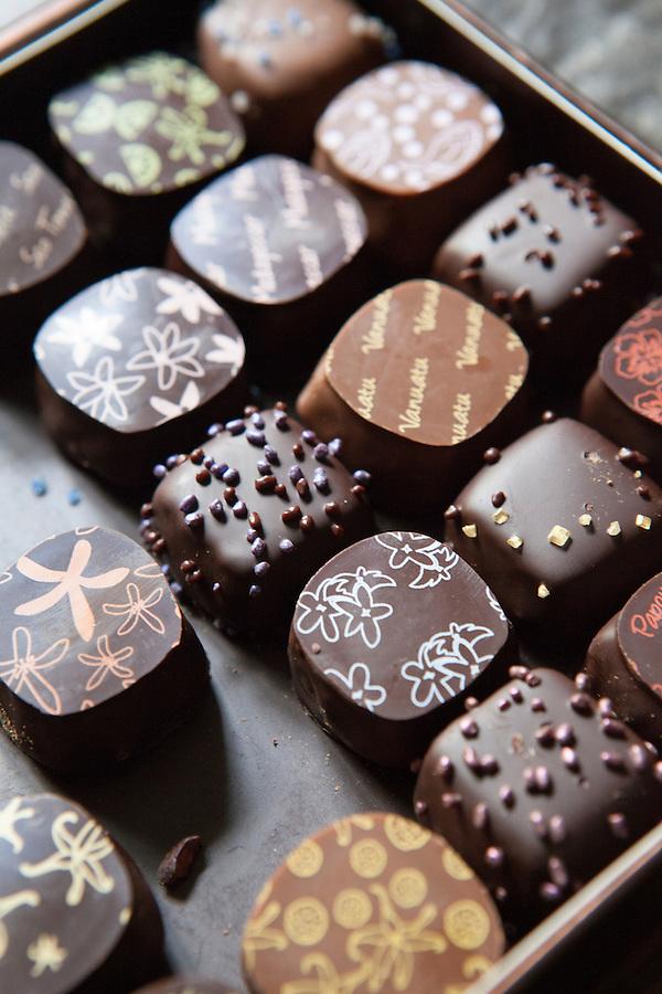 de Neuville box of Chocolates in Paris, France