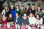 Cahereen Heights Childcare, Castleisland staff enjoying a Christmas night out at Cassidy's on Saturday