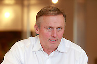 Author John Grisham photographed at his office in Charlottesville, VA.