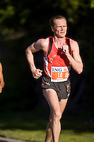 Ottawa, Ontario ---25/05/08--- Evgeni Bozhko runs during the ING Ottawa Marathon, May 26, 2008..GEOFF ROBINS /