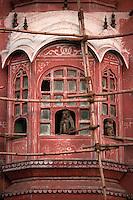 The Hawa Mahal in Jaipur, India - 1996